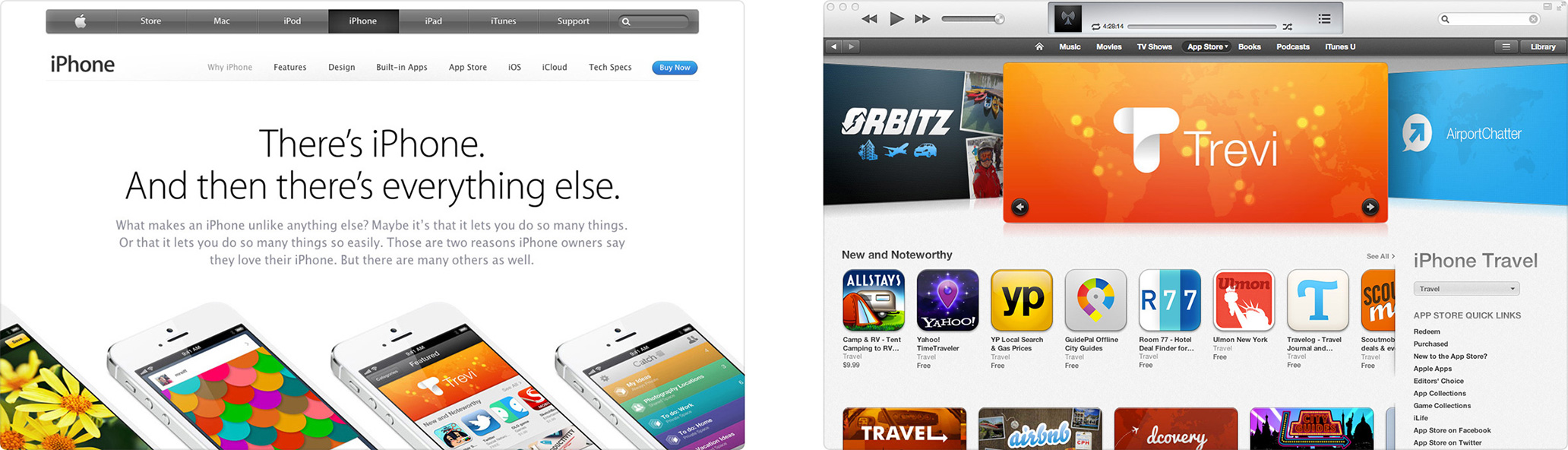 Trevi featured by Apple