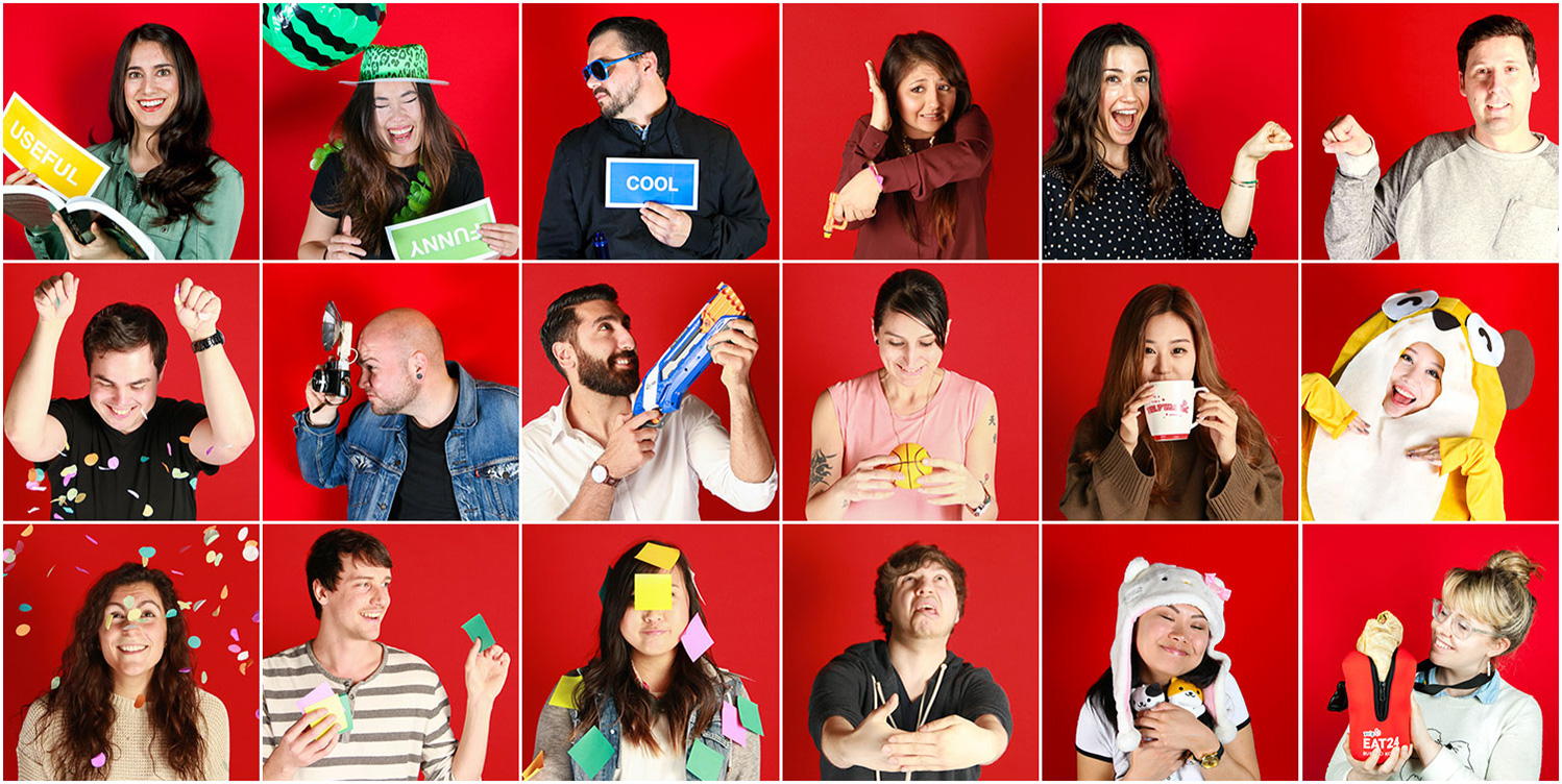 Yelp design team